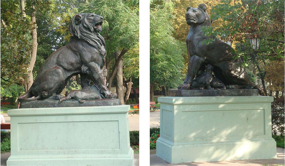 Памятник Лев и Львица Одесса