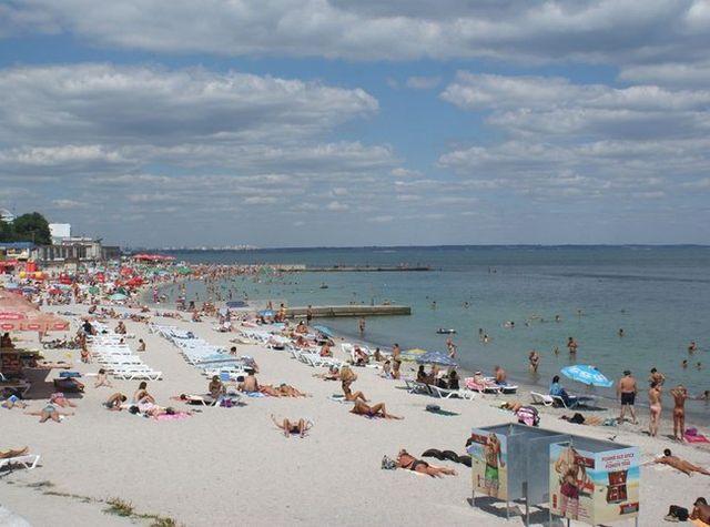 Ланжерон Пляж Одесса