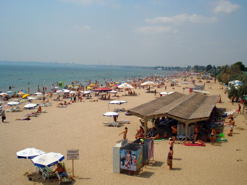 Пляж Лузановка Одесса