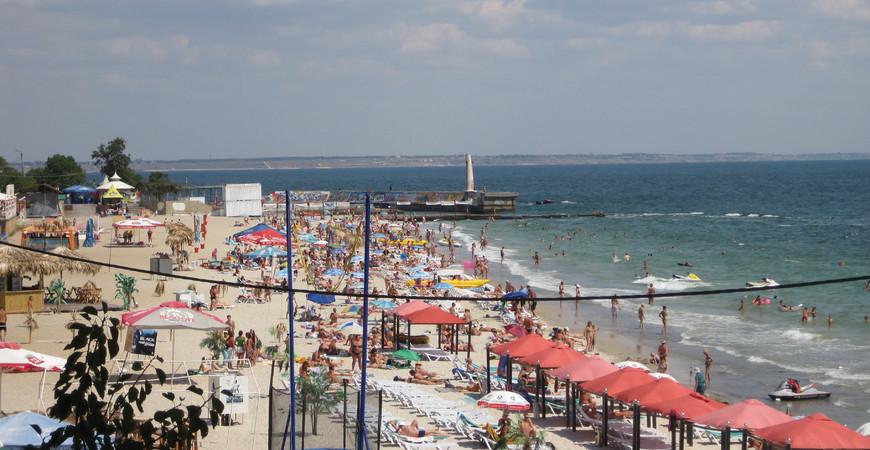 Ланжерон - Центральный пляж в Одессе