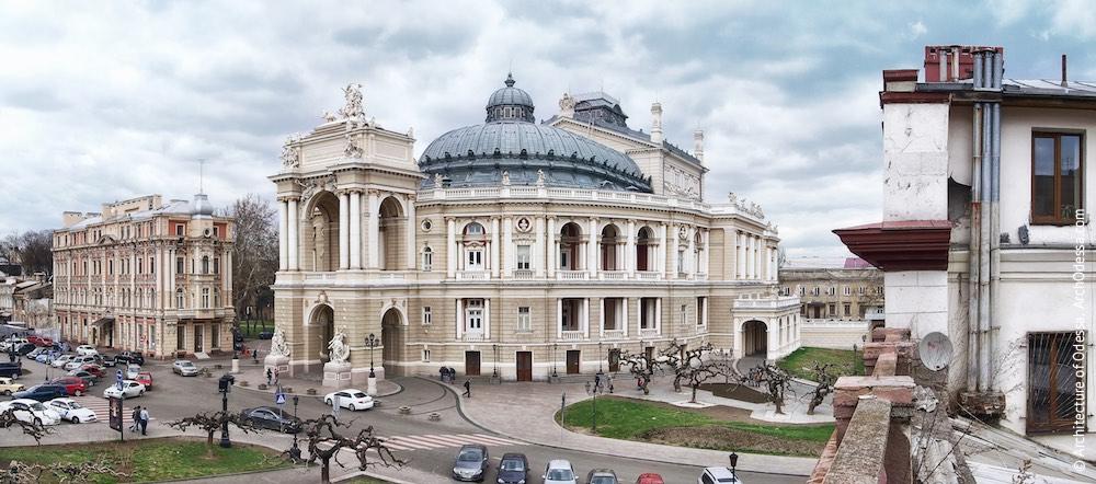 Театральная площадь Одесса
