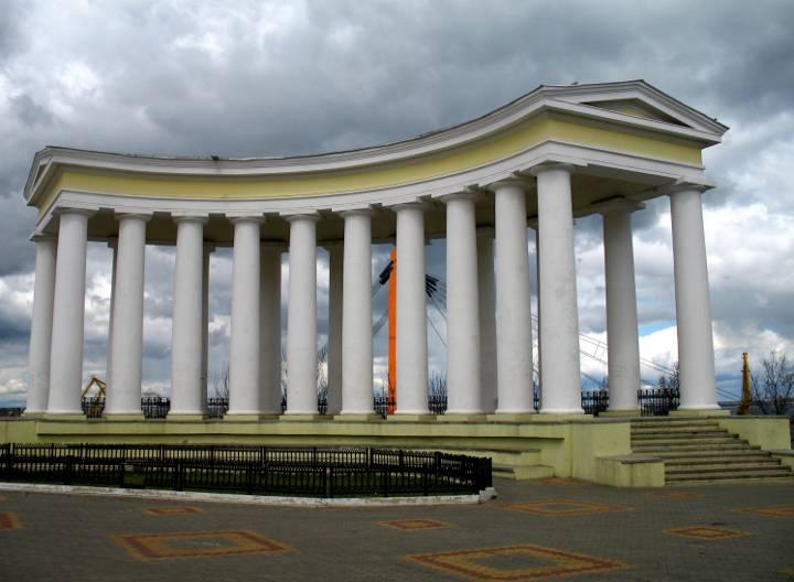 Бельведер Дворца Одесса