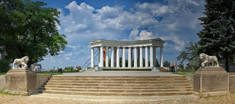 Бельведер Воронцовского дворца Одесса