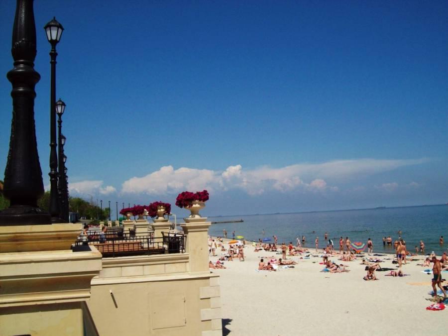 Пляж Золотой Берег Одесса