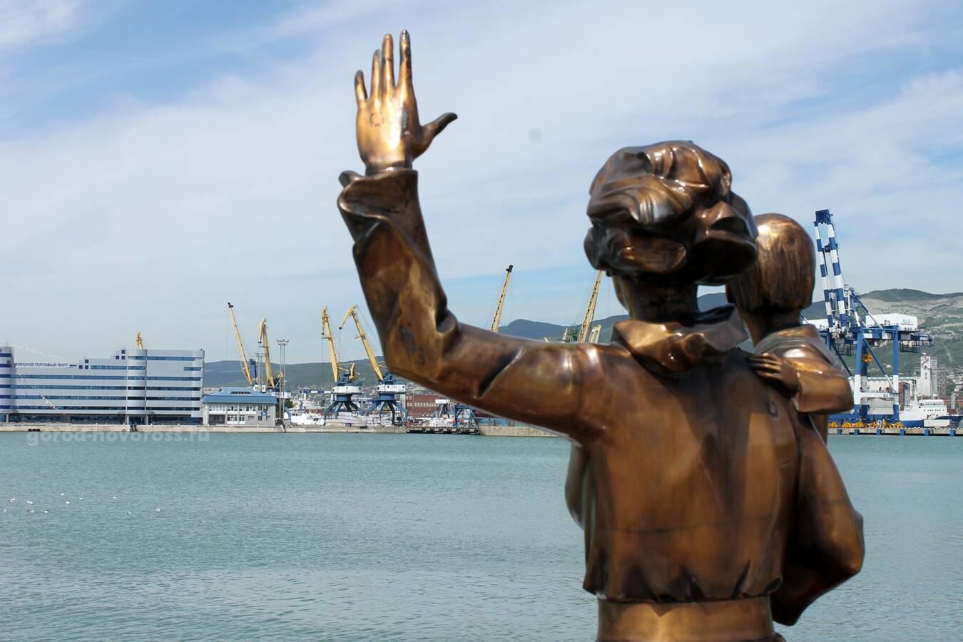 Памятник жене моряка Одесса