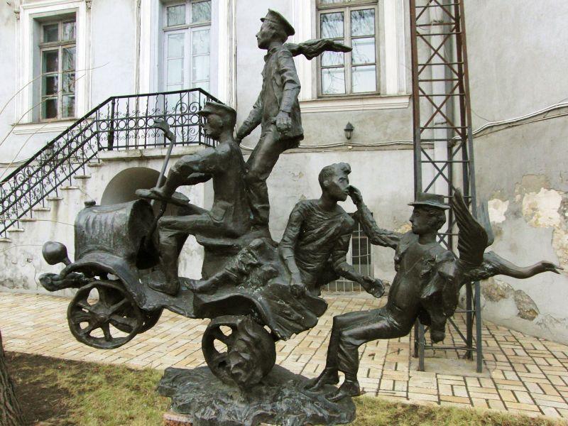 Сад скульптур  Одесса