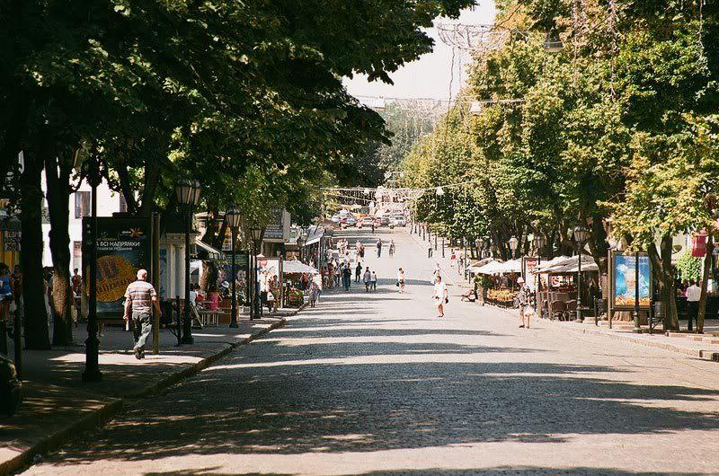 Дерибасовская улица Одесса