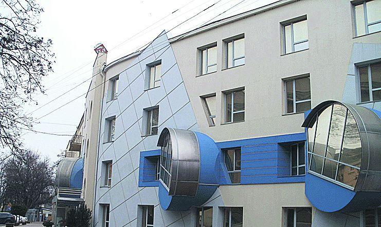 Дом с ушками