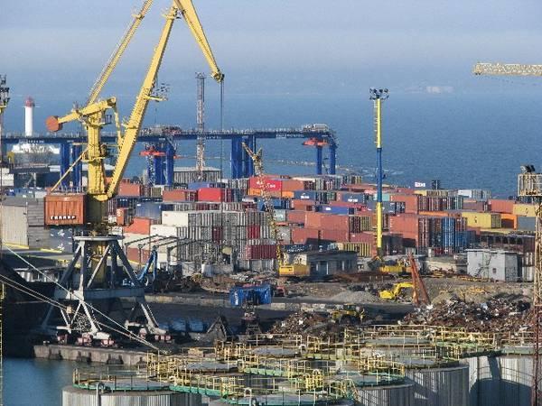 Порт в Одессе фото