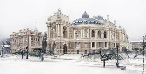 Зимняя Одесса