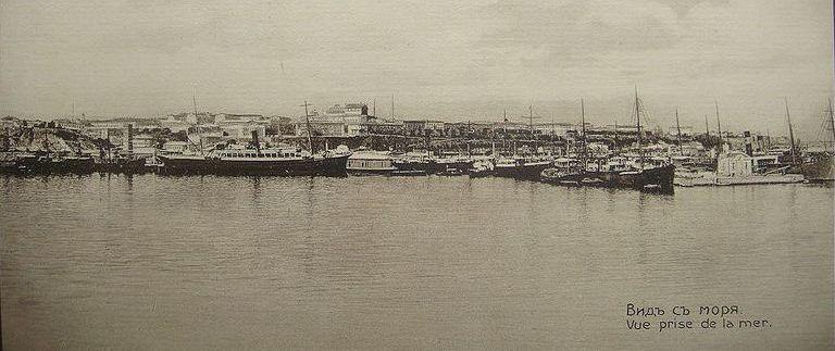 Порт Одессы_старое фото