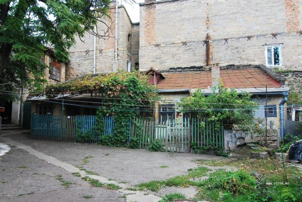 Район Молдаванки в Одессе