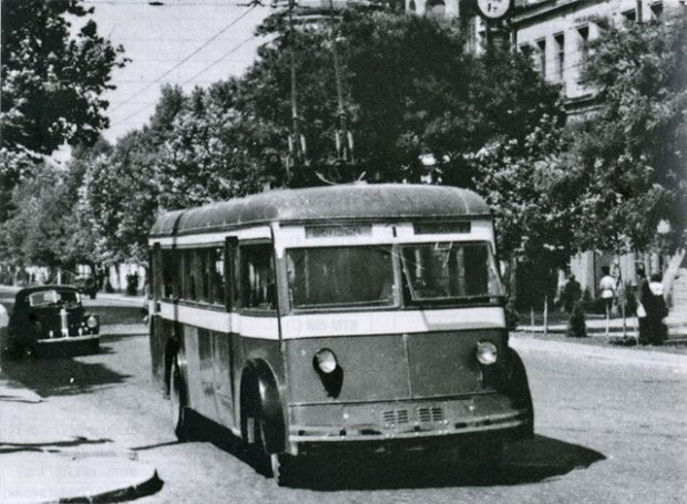 Улица Дерибасовская_ретро фото