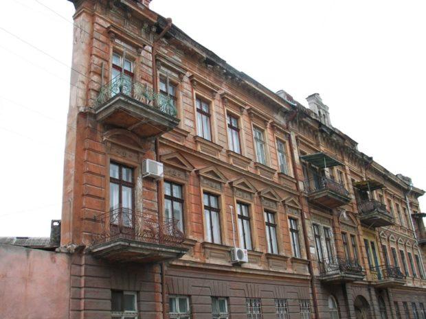 Дом-стена, Одесса