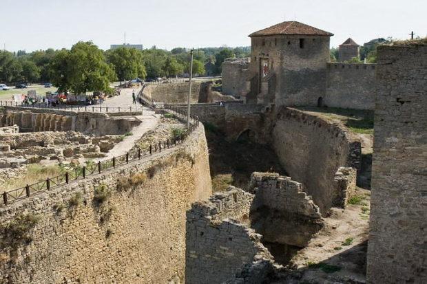 крепостные валы Овидиополь
