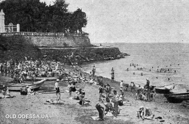 Пляж Аркадия, ретро-фото