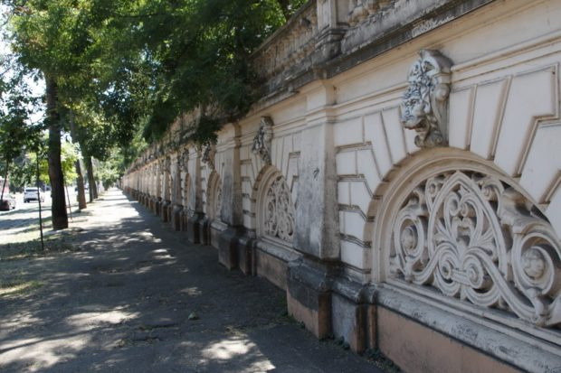 Застройка Французского бульвара в Одессе