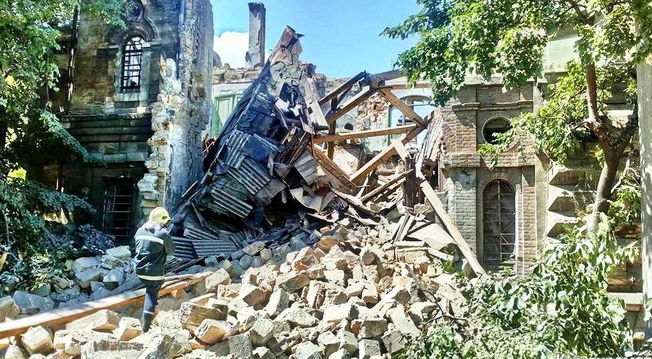 Уничтожение памятников архитектуры в Одессе