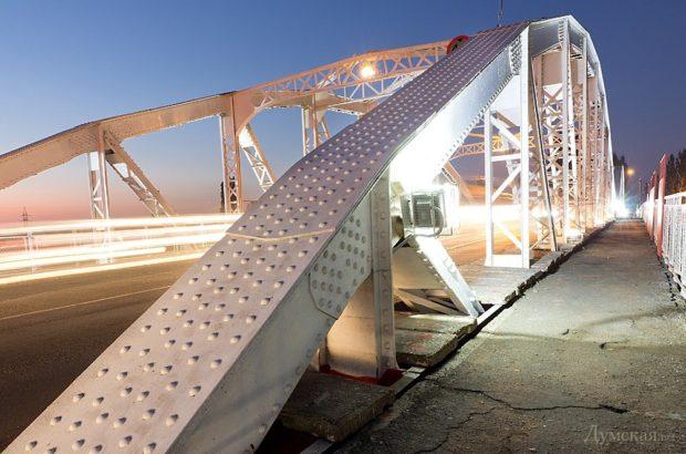 Горбатый мост, Одесса