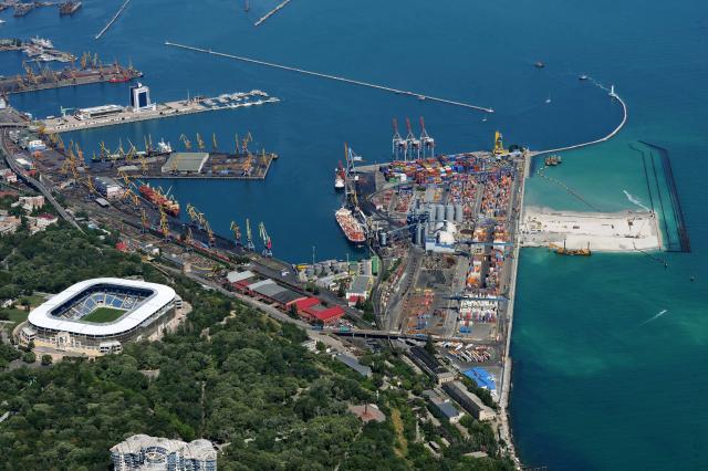 экскурсии в Морской порт Одесса