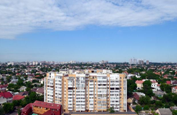 """Вид с крыши курорта """"Мирный"""""""