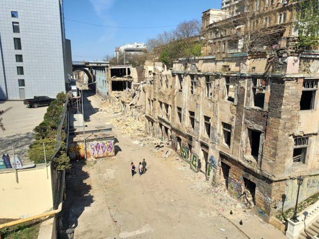 заброшенные здания Одессы
