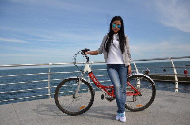 Катание на велосипеде в Одессе