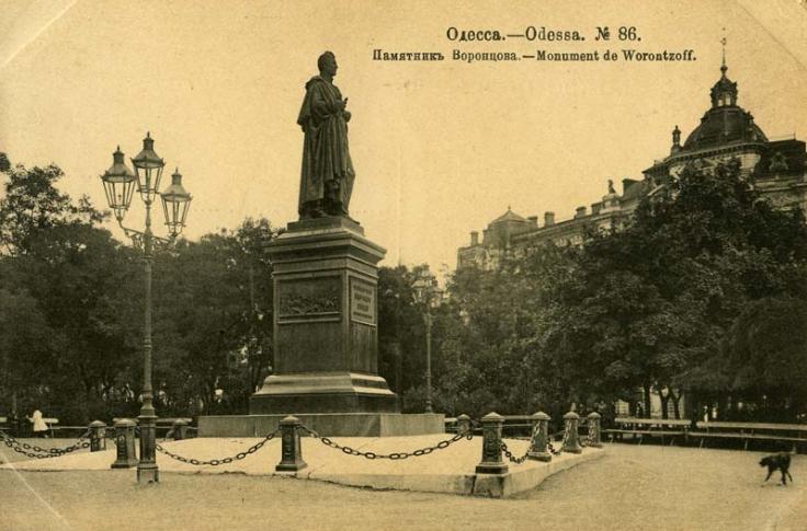 Памятник Воронцову, Одесса