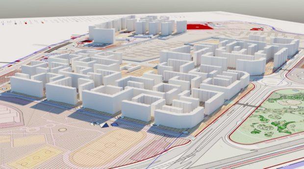 План застройки Школьного микрорайона