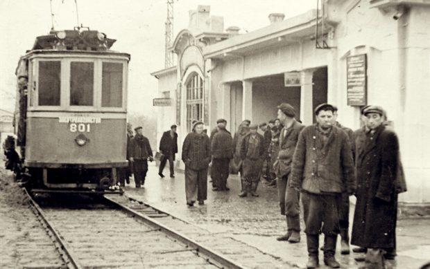 Старые трамваи Одессы