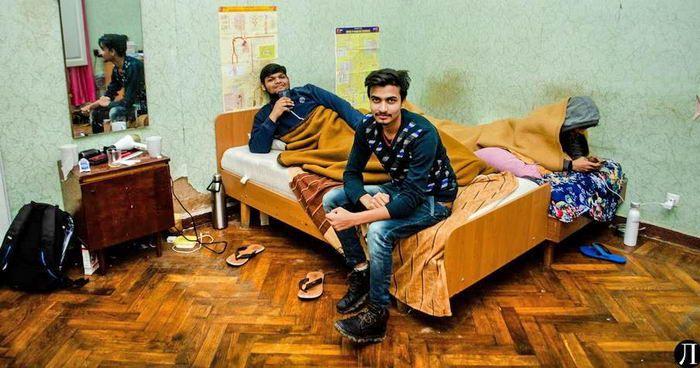 Студенты из Индии