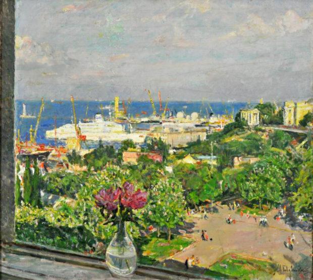А. Гавдзинский «Вид на Одесский порт»