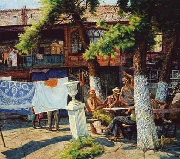 Картина Геннадия Верещагина