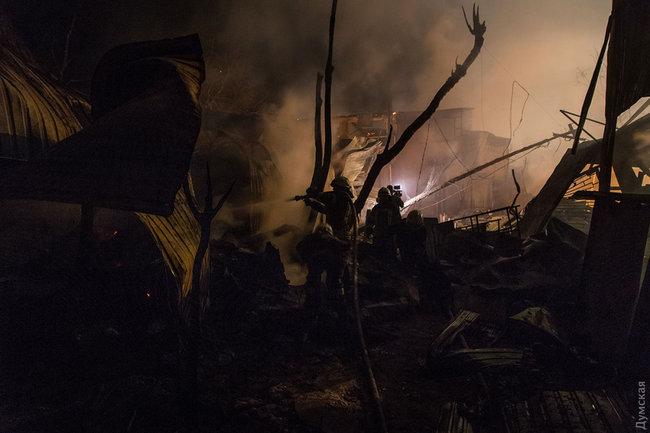 Пожар в Одессе, черноморка