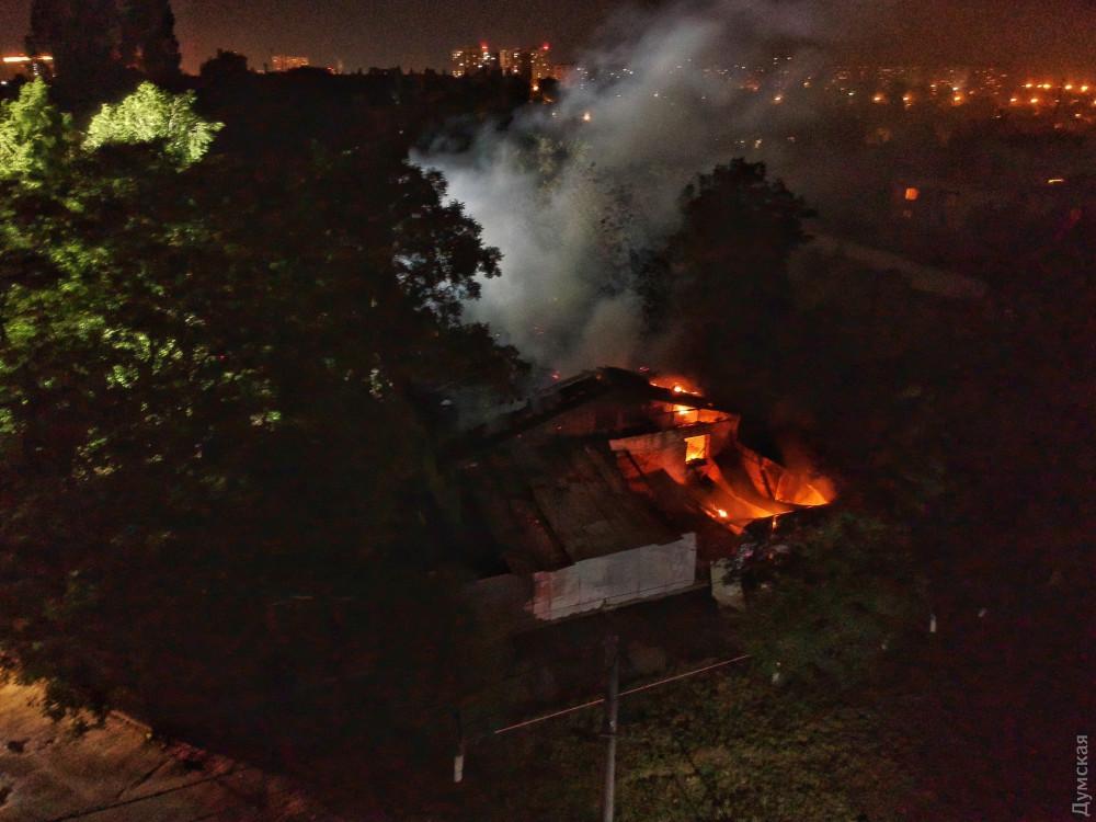 Пожар в Одессе, психбольница