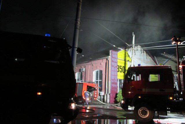 Пожар в Одессе, гостиница токио