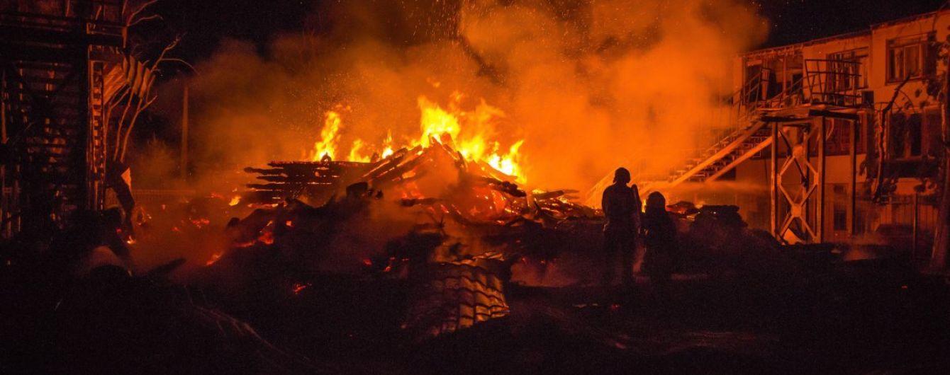 Пожар в Одессе, Виктория