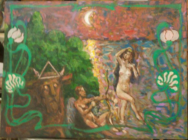картина Виктора Павлова