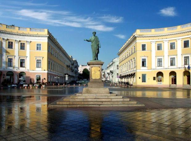 Одесса, памятник Дюку